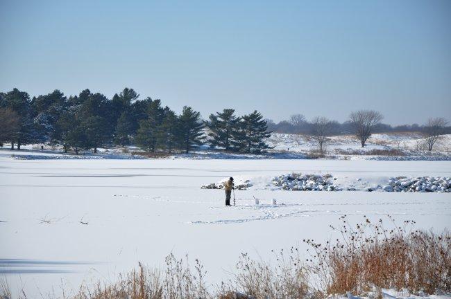 December 2011 photo gallery for Ice fishing nebraska