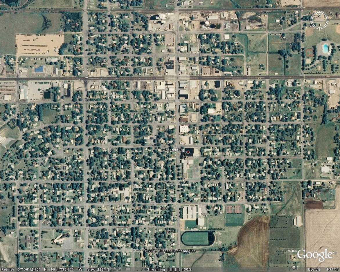 GreensburgKansasbeforeaftertornado - Before and after world
